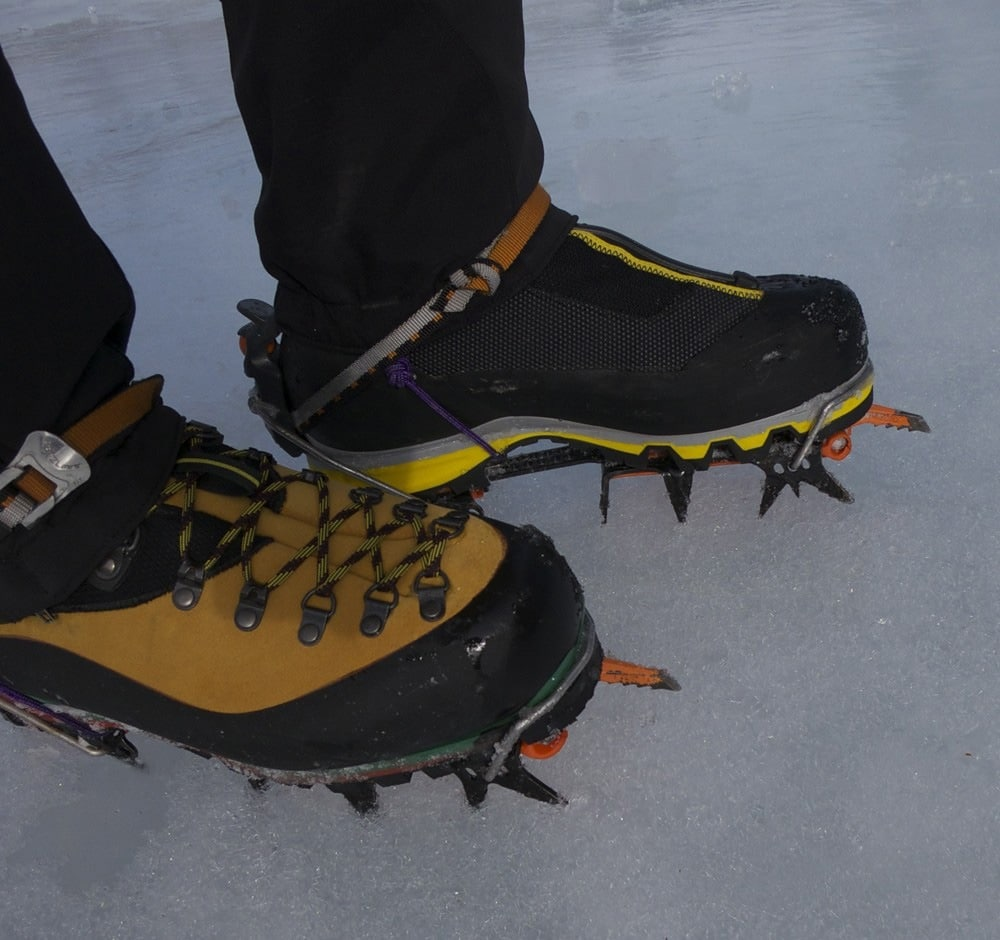 Shoes and choice of crampons