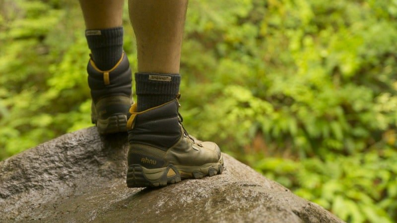 The choice of the right stiffness on your hiking boots