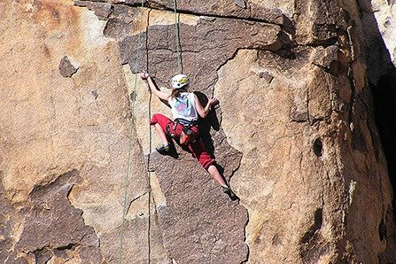 Abseil or rappel