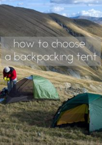 How to Best Choose a Backpacking Tent for Your Next Hike?