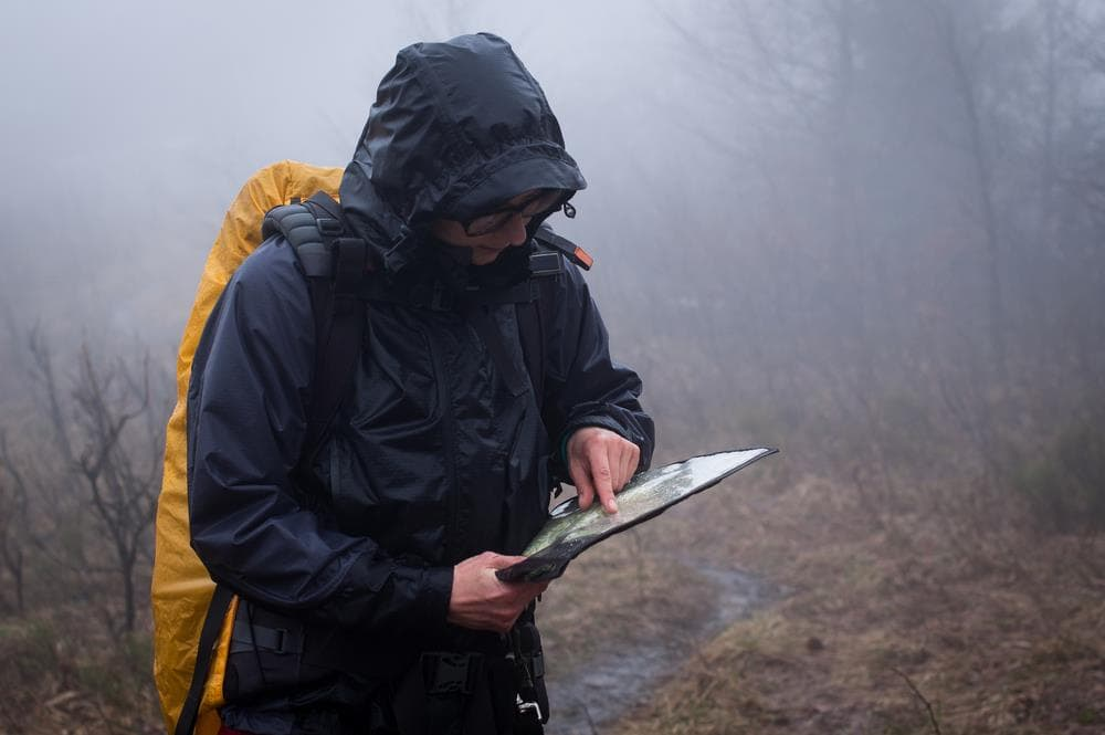 Hiking gps waterproof and robust