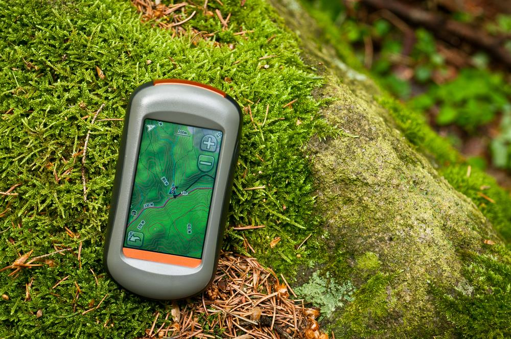 Hiking gps with HD color screen