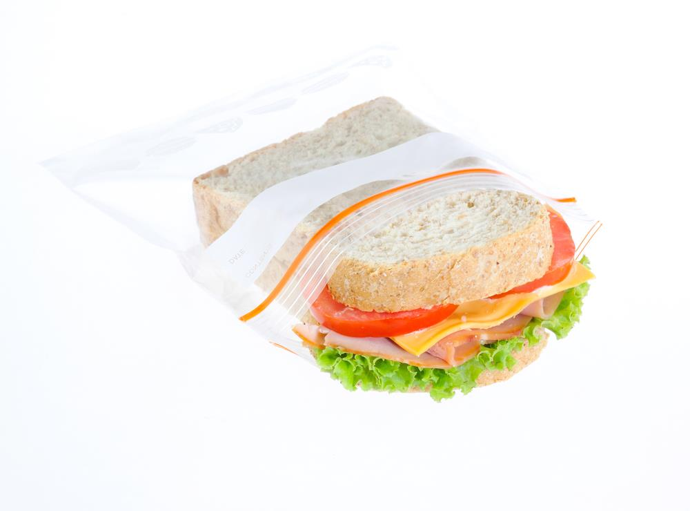 Manage food packaging for hiking
