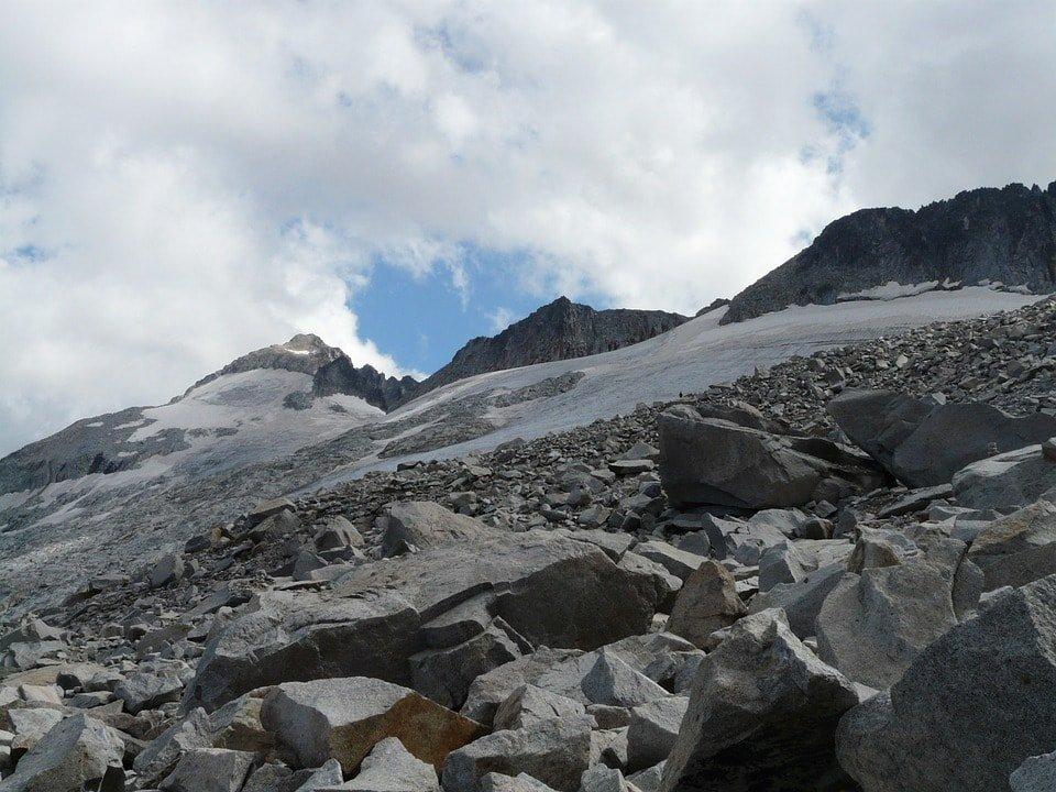 mountain scree