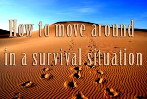 How to move around in a survival situation – Orientation tips in wilderness