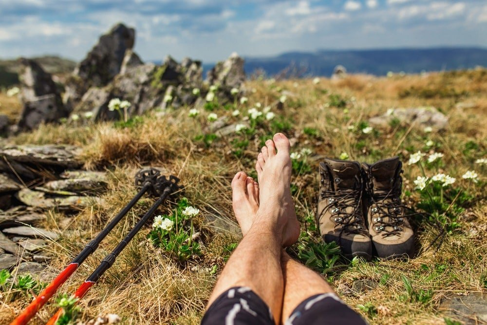 Take care of your feet while hiking