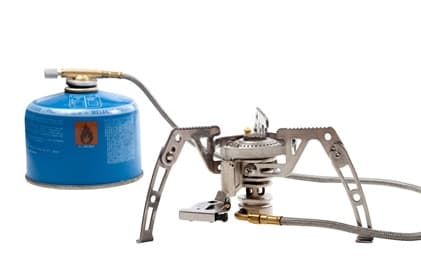 remote or inverted canister stoves