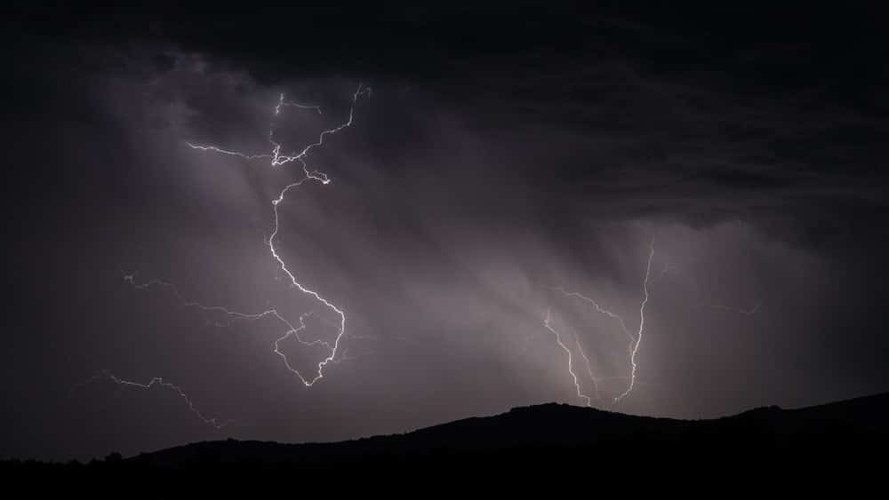 What to do once you are within lightning range