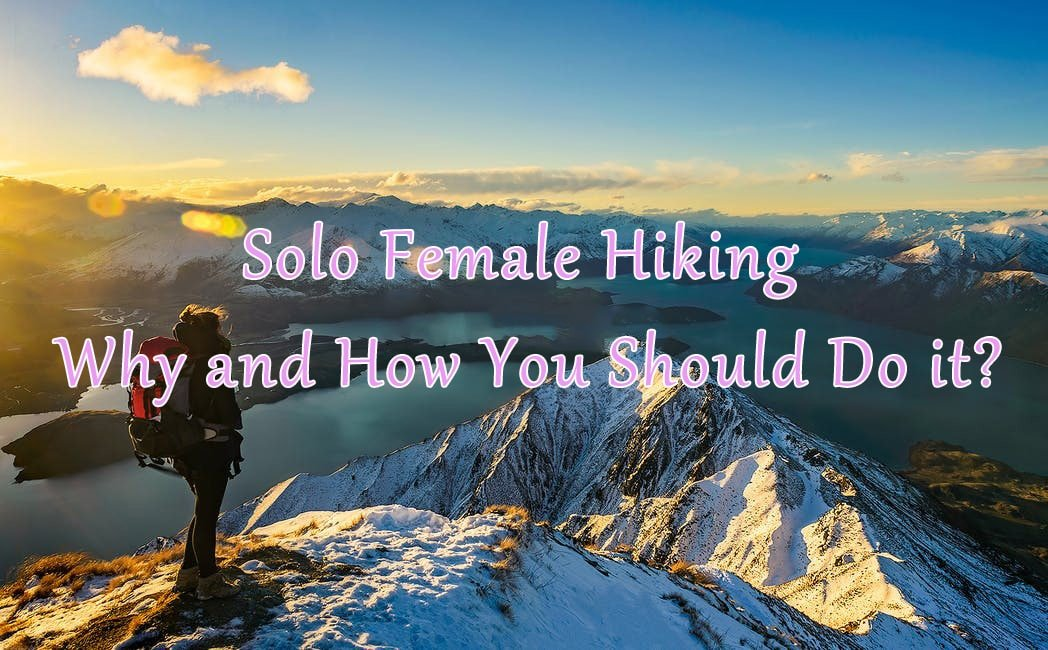 Women hiking alone