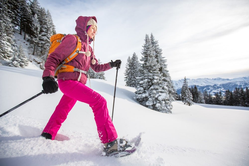 Clothes for winter hiking and snowshoeing
