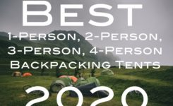 Best 1-Person, 2-Person, 3-Person and 4-Person Backpacking Tents