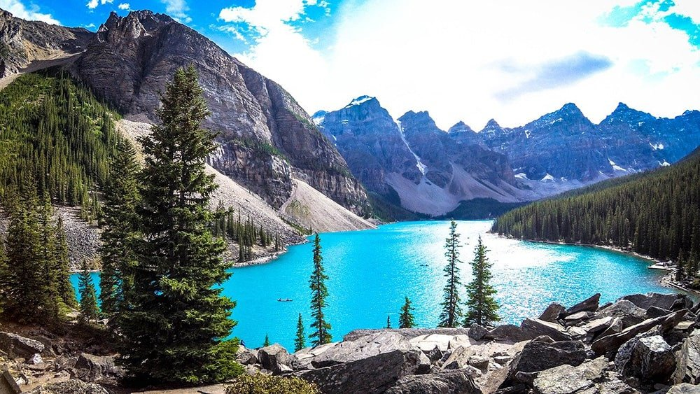 Moraine lake - Canadian-Rockies