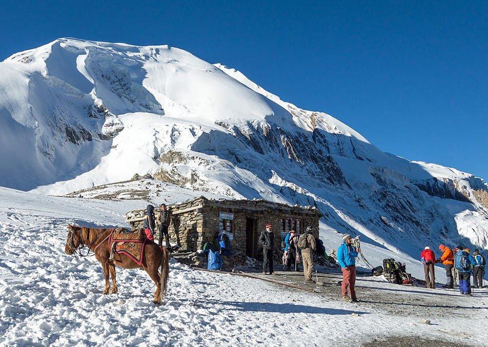 Tea house - Thorong La Pass - Annapurna Circuit Nepal