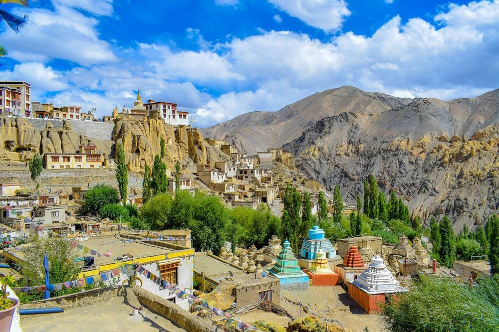 Leh Ladakh mountains Kashmir India
