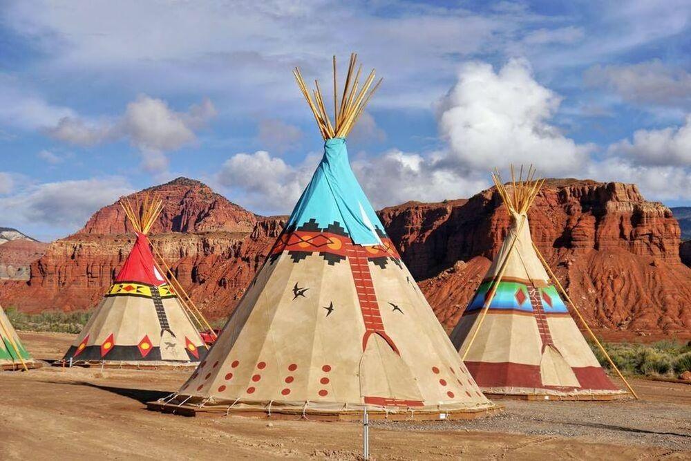 Tent shape