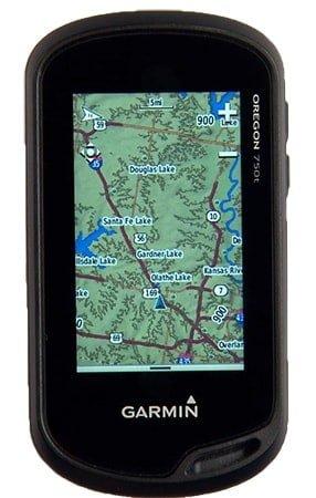 Using a hiking GPS