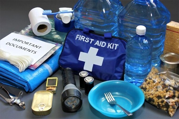 Emergency preparedness list of products