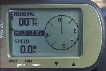 Garmin Foretrex 401 Compass