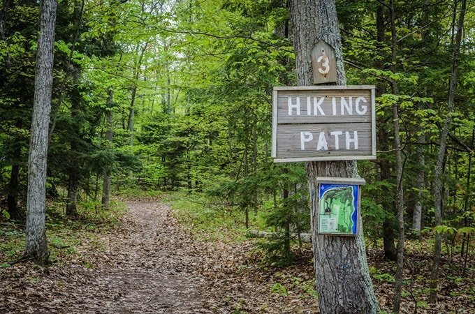How to find hiking routes near your home