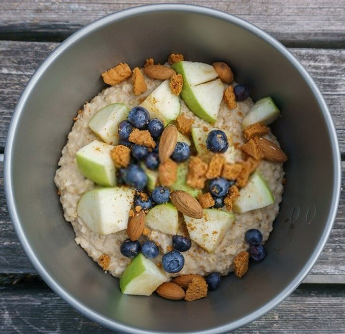 Oatmeal Porridge with fruits