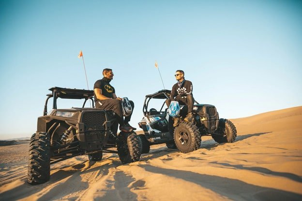 ATVs on dune